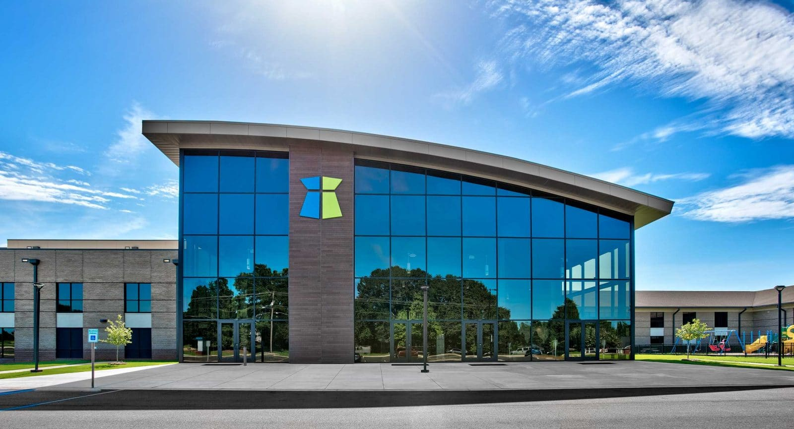 Anderson Mill Church - GlassFront Commercial Building Services by City Glass in Anderson, SC