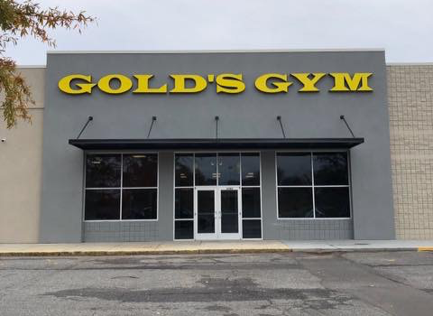 Gold's Gym - Glass Installation Project by City Glass in Anderson, SC