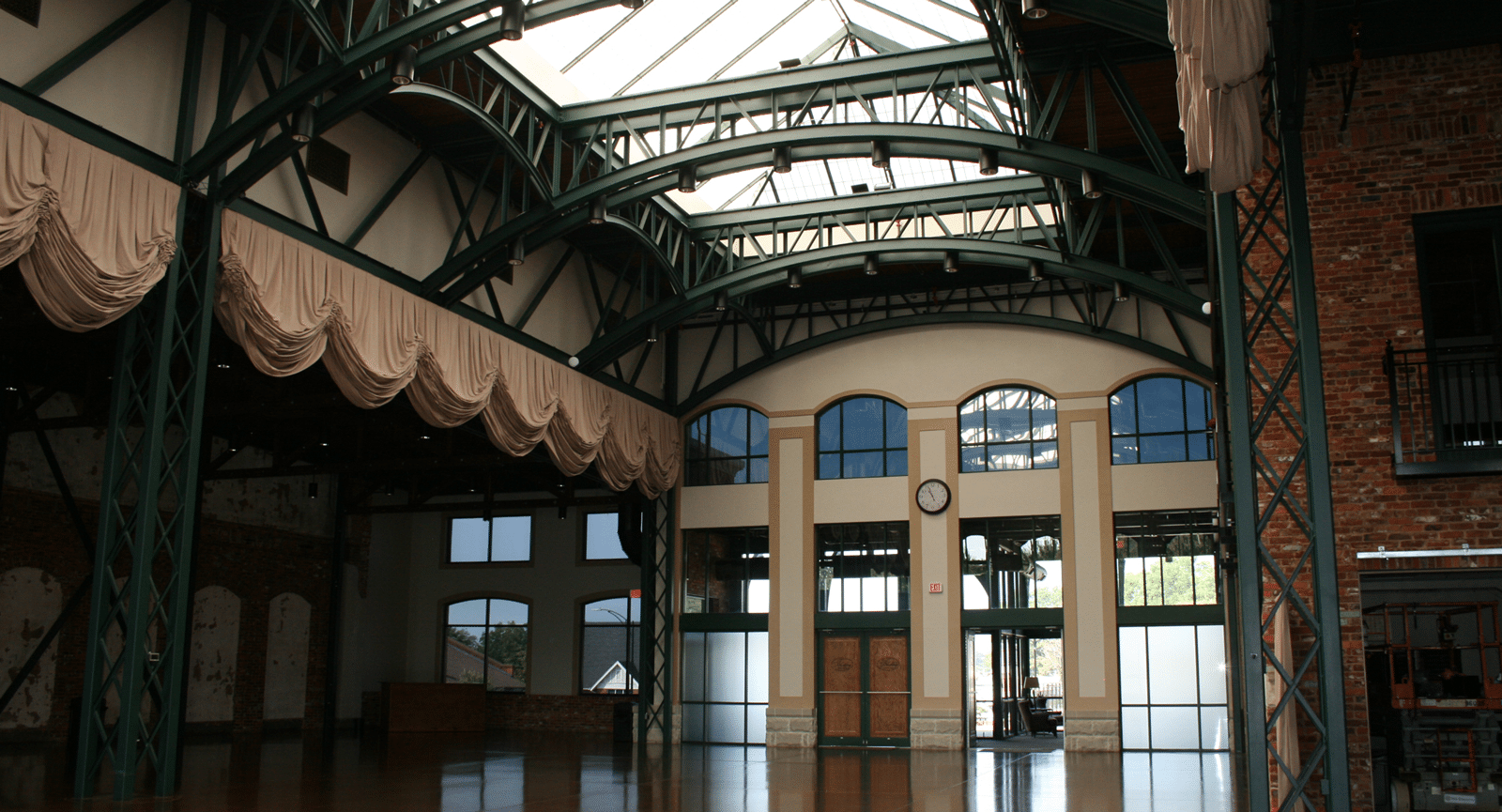 Featured Project by City Glass - Glass Windows & Doors of Event Space Installed by City Glass