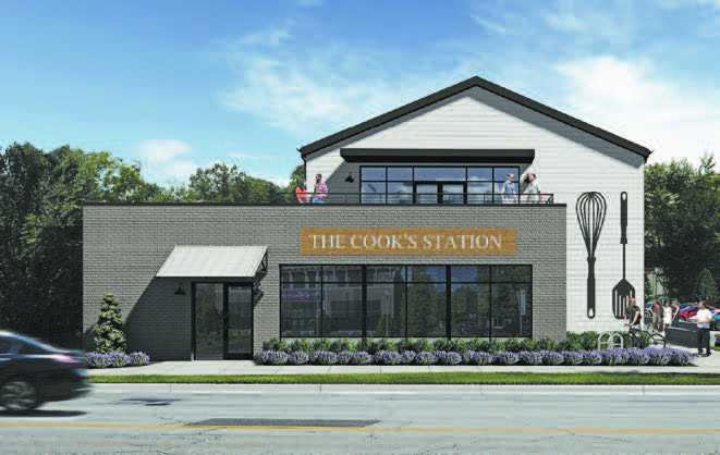 Retail Glass Project - The Cook's Station South Carolina